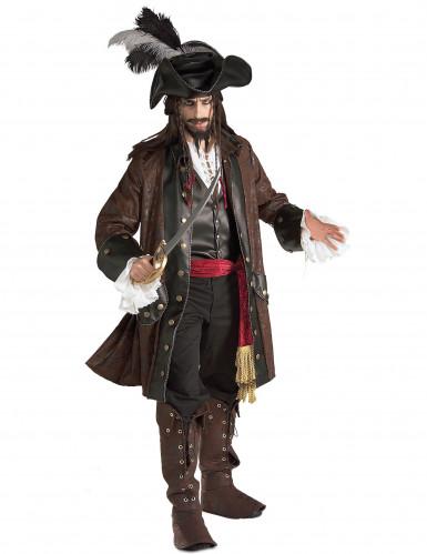 Disfraz de pirata de lujo para hombre