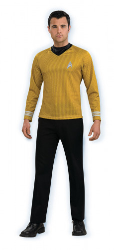 Disfraz dorado de Star Trek™ para hombre