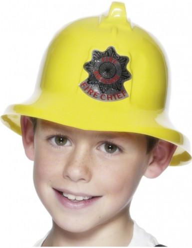 Casco de bombero para niño o niña