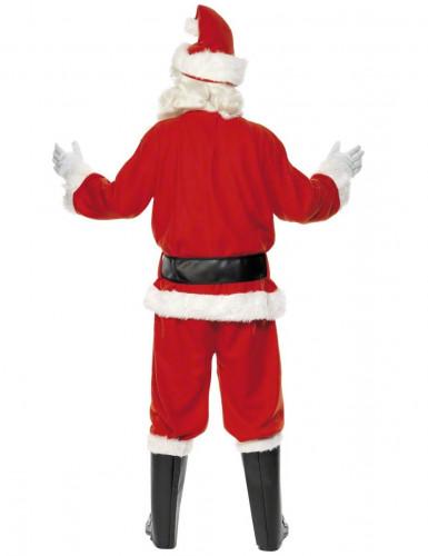 Disfraz de Papá Noel de lujo para hombre-1