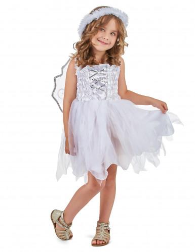 Disfraz de princesa de los ángeles para niña