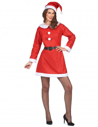 Disfraz de Mamá Noel clásico para mujer