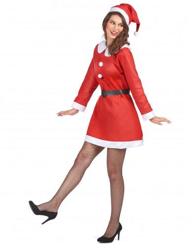 Disfraz de Mamá Noel clásico para mujer-1
