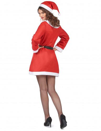Disfraz de Mamá Noel clásico para mujer-2