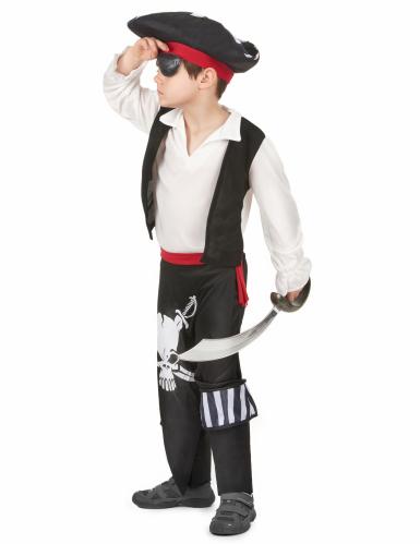 Disfraz de rey de los piratas para niño-1