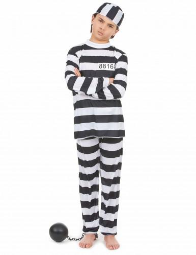 Disfraz de preso para niño o niña