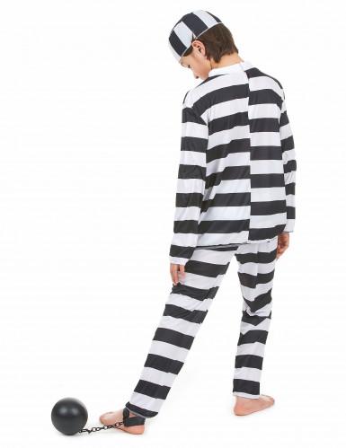 Disfraz de preso para niño o niña-2