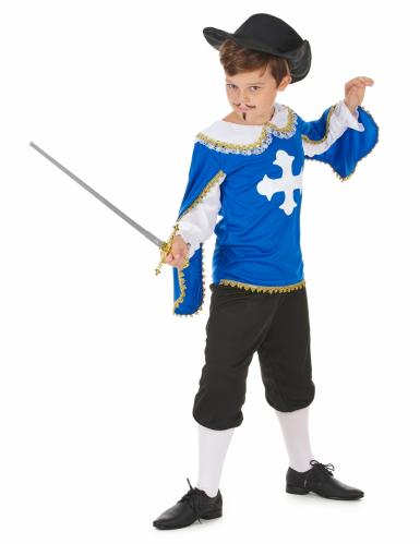 Disfraz azul de mosquetero para niño-1