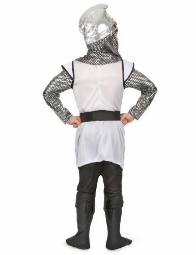 Disfraz de caballero cruzado medieval para niño-2