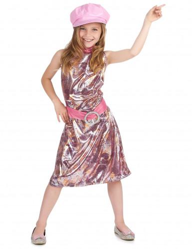 Disfraz de los años 60 para niña