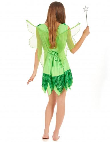 Disfraz de hada verde para mujer-1