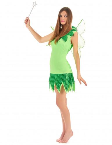 Disfraz de hada verde para mujer-2