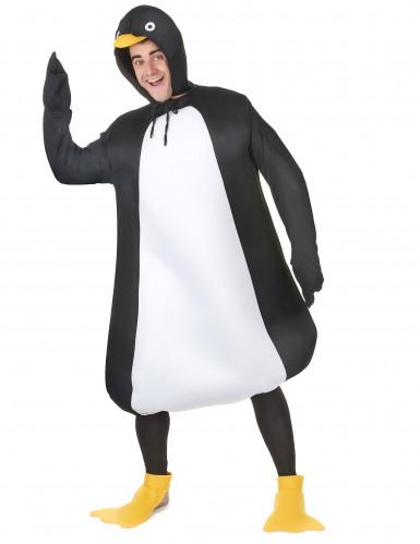 Disfraz humorístico de pingüino para adulto-1