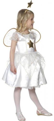 Disfraz de ángel de Navidad para niña-1