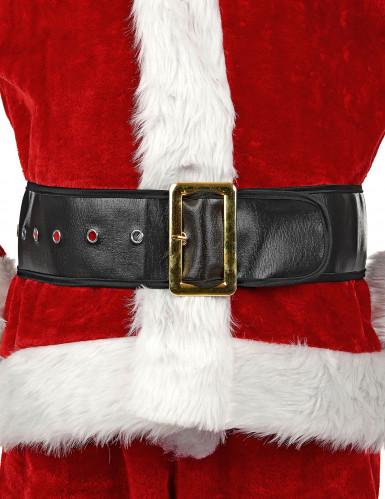 Cinturón negro de Papá Noel para adulto-3