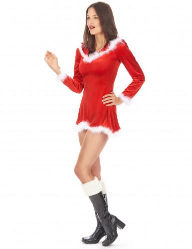 Disfraz muy sexy de Mamá Noel-1