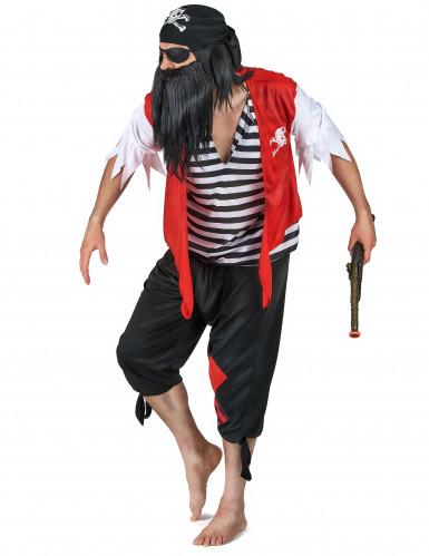 Disfraz de pareja de piratas de los océanos-1