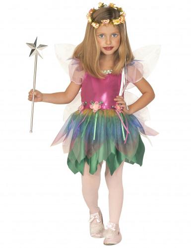 Disfraz de hada libélula para niña