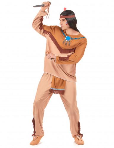 Disfraz de pareja de indios para adultos-1
