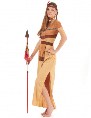 Disfraz de pareja de indios para adultos-2
