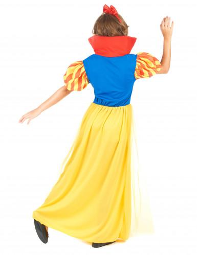 Disfraz de princesa de cuento de hadas para niña-2