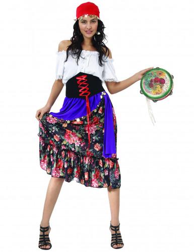 Disfraz de bohemia para mujer