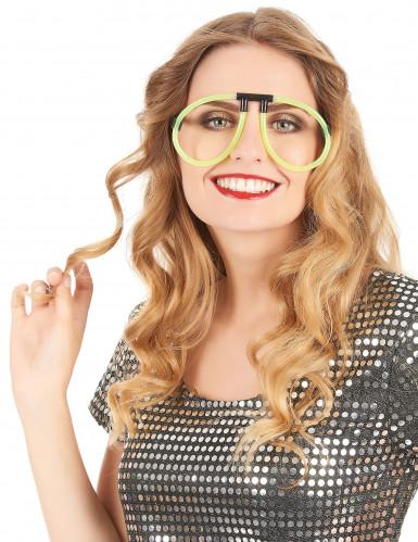 Gafas fosforescentes