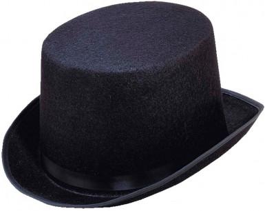 Sombrero de copa negro-1