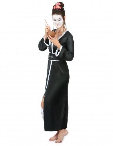 Disfraz de geisha en quimono para mujer-1