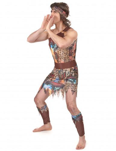 Disfraz de rey de la selva para hombre-1