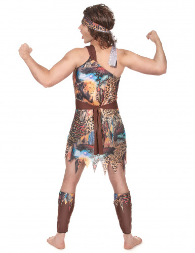 Disfraz de rey de la selva para hombre-2