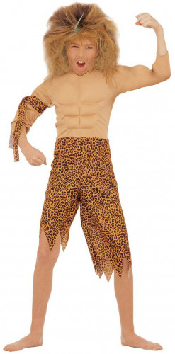 Disfraz de niño de la selva
