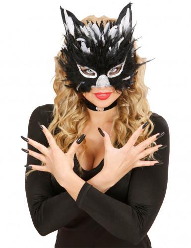 Antifaz de gata negra-1