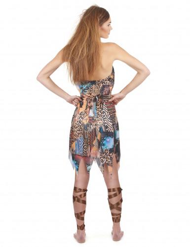 Disfraz de reina de la selva para mujer-2