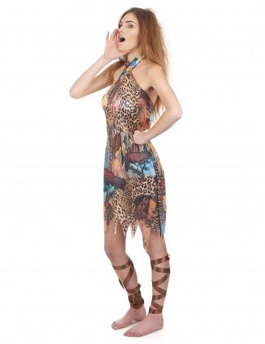 Disfraz de reina de la selva para mujer-1
