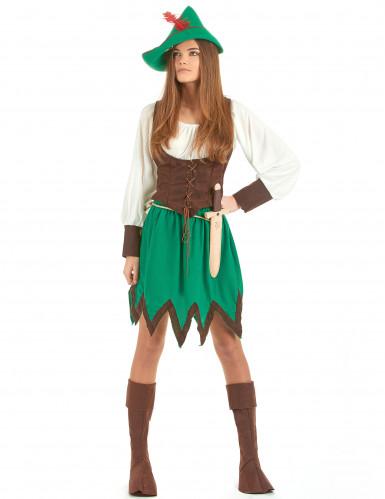Disfraz de mujer del bosque
