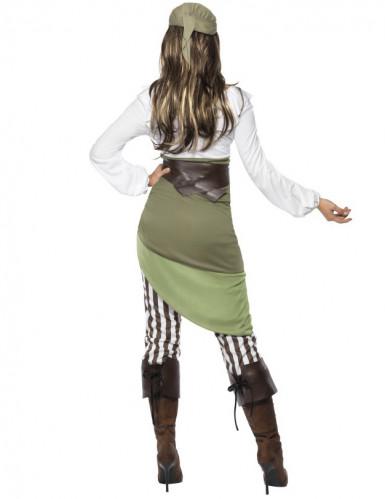 Disfraz de pirata Buccaneers Bounty para mujer-2