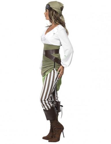 Disfraz de pirata Buccaneers Bounty para mujer-1