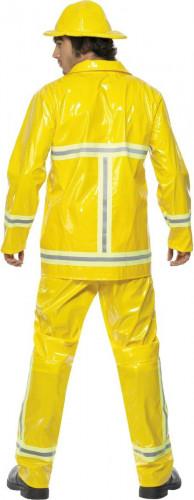 Disfraz de bombero amarillo para hombre-1