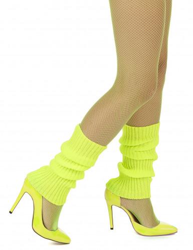Calentadores amarillos fluorescentes