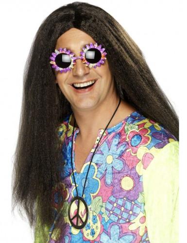 Peluca hippie para hombre