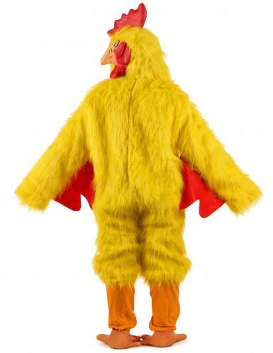 Disfraz de pollo amarillo-2