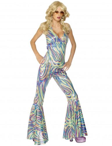 Disfraz estilo disco camaleón para mujer