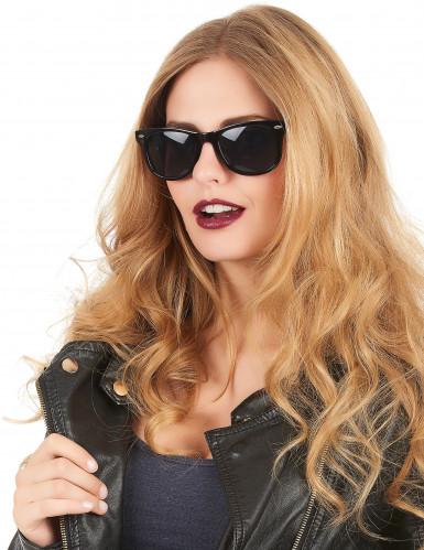 Gafas negras estilo años 50-1