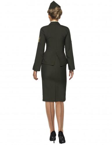 Disfraz de oficial militar para mujer-2