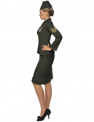 Disfraz de oficial militar para mujer-1