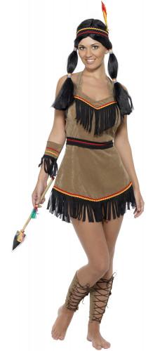 Disfraz de india divertida para mujer