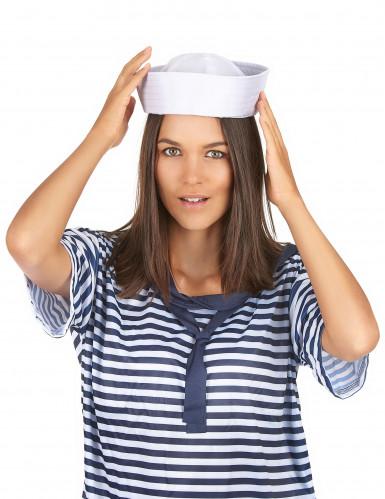Sombrero blanco de panadero-2
