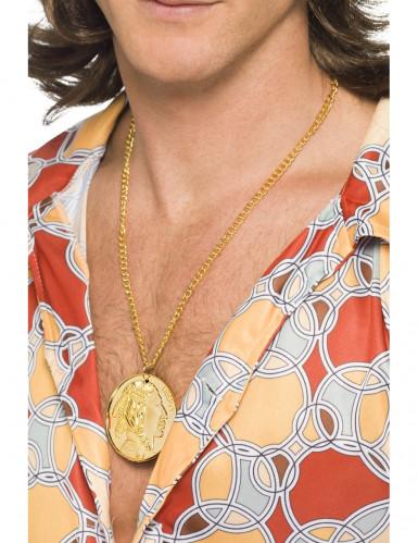 Collar dorado five cent