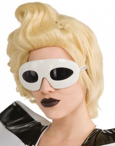 Gafas de Lady Gaga™ blanca
